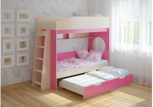 <span>Трехъярусная кровать</span> Легенда 10.4